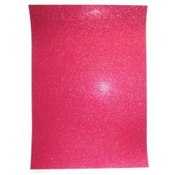Papel A4 vermelho com glitter Artoz