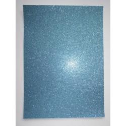 Papel A4 turquesa com glitter Artoz