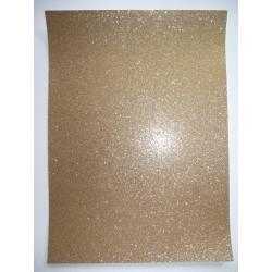 Papel A4 dourado com glitter Artoz