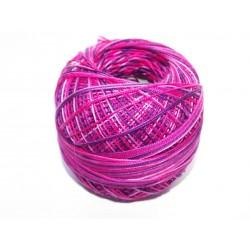 Linha croché rosa e roxo