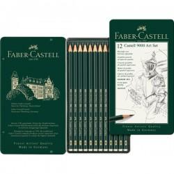 Lápis de desenho Faber-Catell 12 unidades