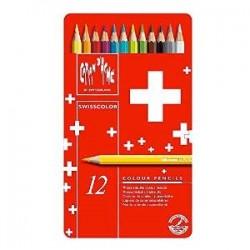 Lápis de aguarela Caran d'Ache 12 unidades