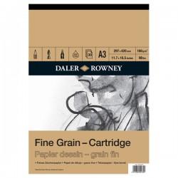 Bloco de papel para desenho Daler Rowney A3 160gr