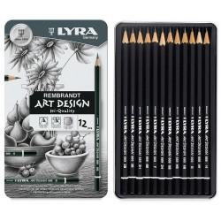Lápis de desenho Lyra 12 unidades