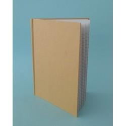 Caderno kraft pautado A4