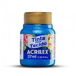 Tinta tecido Acrilex glitter