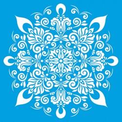 Stencil Grande Mandala
