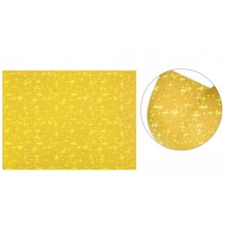 Cartolina Purpurina Ouro