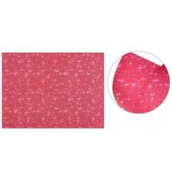 Cartolina Purpurina Vermelho