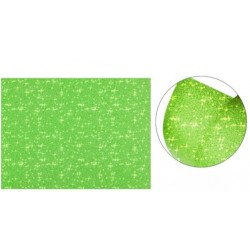 Cartolina Purpurina Verde