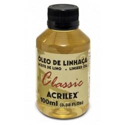 Oleo de Linhaça ACRILEX