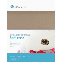 Printable Kraft Sticker Paper