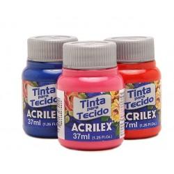 Tinta tecido Acrilex Fosco
