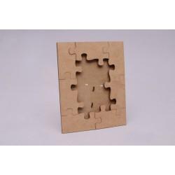 Moldura puzzle