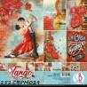 BLOCO SCRAPBOOK DUPLA FACE 'TANGO' 30.5X30.5 CM