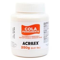 Cola permanente Acrilex 250gr