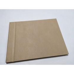 Livro de honrra  Kraft 18x23,5 cm