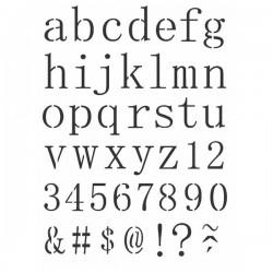 Stencil  Alfabeto Minusculo