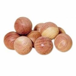 Bola madeira sem furo 2,5 cm