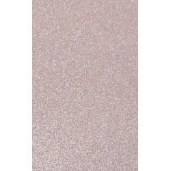 Cartolina purpurina Rosa Claro