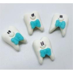 Dentinho com laço Azul