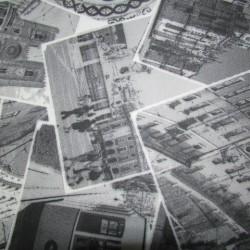 Tecido adesivado fotos