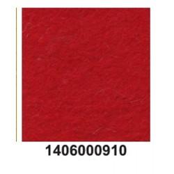 Feltro lã merino grosso vermelho