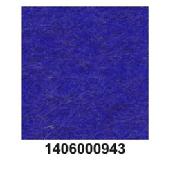 Feltro lã merino grosso azul real