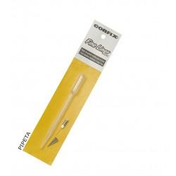Pipeta de plástico 3ml com ponta metálica