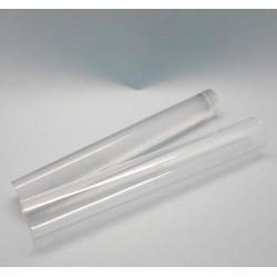 Conjunto de 2 rolos de acrílico (um cheio e outro aberto)